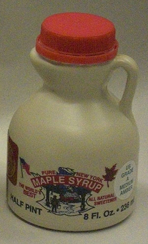 half pint of maple syrup